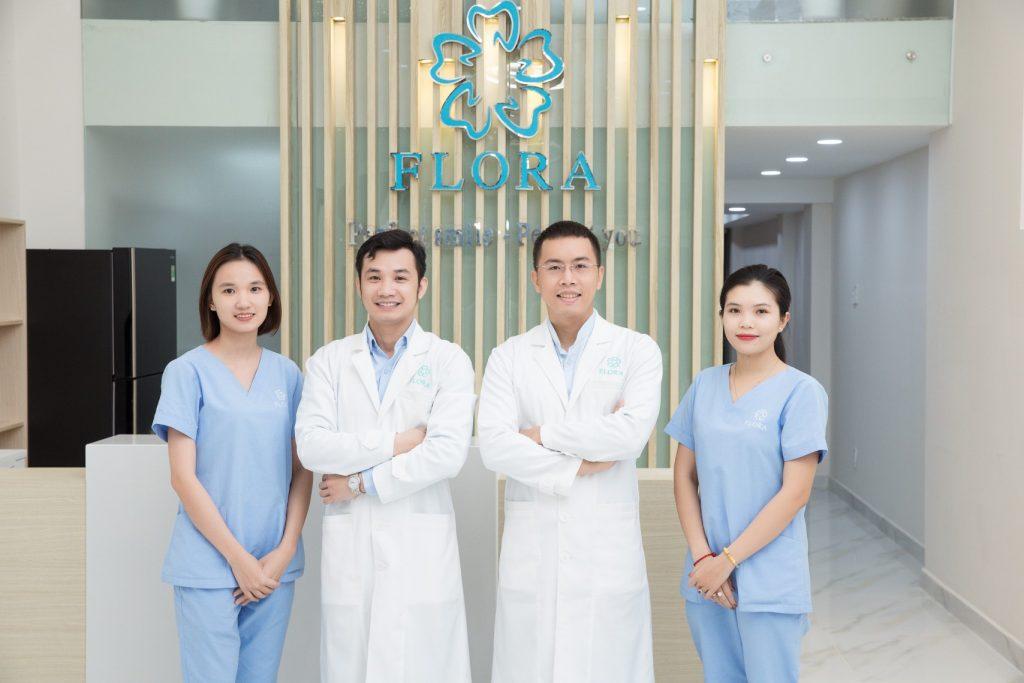 Đội ngũ nha sĩ tay nghề cao tại nha khoa Flora (ảnh minh họa)